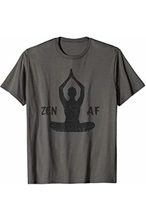 The Stupa Zen AF Cute Yoga Clothes Funny Buddhist Gifts T-Shirt