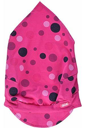 Döll Girl's Kopftuch Mit Schirm Jersey Hat, (Beetroot |