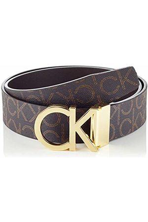 Calvin Klein Men's Ck Rev.adj. New Mono Belt 3.5cm ( Monogram 0hd)