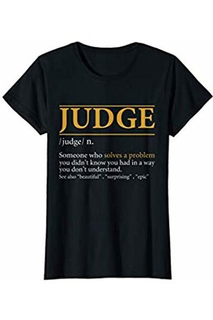 BBP Designs Womens Funny JUDGE definition Birthday or Christmas Gift T-Shirt