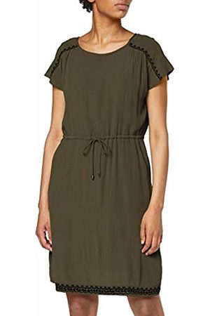 Vero Moda Women's Vmhouston S/s Dress Exp (Ivy Detail: Emb. )