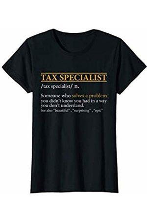 BBP Designs Womens Funny TAX SPECIALIST definition Birthday or Christmas Gift T-Shirt