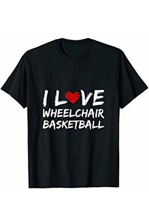 Great gifts and shirts for wheelchair users Wheelchair Basketball Gift Disabled Sport T-Shirt