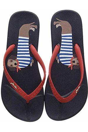 Joules Women's Flip Flops, (Navy Sausage Dogs Navssgdogs)