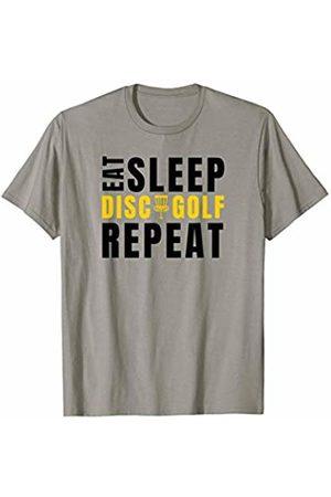 Disc Golf Heros Disc Golf Eat Sleep Funny Frisbee Disc Sports Gift T-Shirt