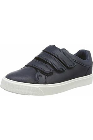 Clarks Boys' City Oasislo K Low-Top Sneakers, Navy