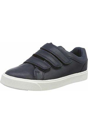 Clarks Boys' City Oasislo K Low-Top Sneakers, Navy
