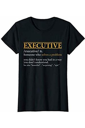 BBP Designs Womens Funny EXECUTIVE definition Birthday or Christmas Gift T-Shirt