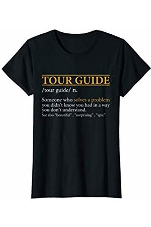 BBP Designs Womens Funny TOUR GUIDE definition Birthday or Christmas Gift T-Shirt