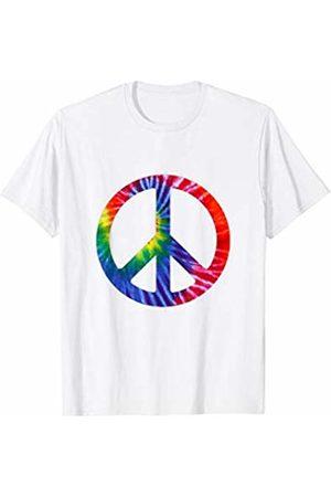 es designs Hippie Tie Dye Peace Sign T-Shirt