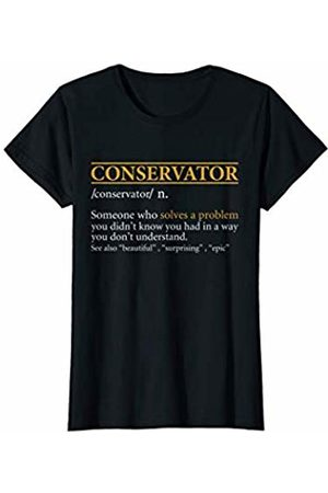 BBP Designs Womens Funny CONSERVATOR definition Birthday or Christmas Gift T-Shirt