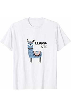 By Fox Tribe Llamaste Shirt Funny and Cute for Yoga Lovers