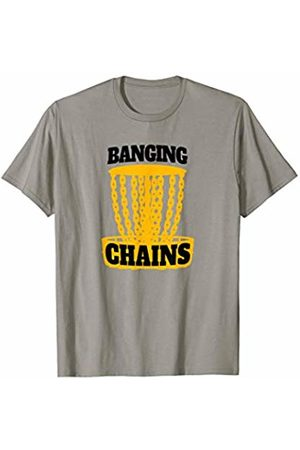 Disc Golf Heros Disc Golf Bagin Chain Funny Frisbee Retro Gift T-Shirt