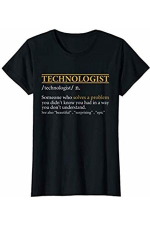 BBP Designs Womens Funny TECHNOLOGIST definition Birthday or Christmas Gift T-Shirt