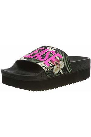 The White Brand Women's High Beach Jungle Platform Sandals