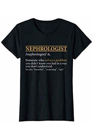 BBP Designs Womens Funny NEPHROLOGIST definition Birthday or Christmas Gift T-Shirt
