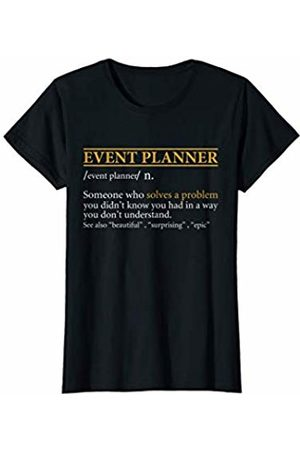 BBP Designs Women T-shirts - Womens Funny EVENT PLANNER definition Birthday or Christmas Gift T-Shirt