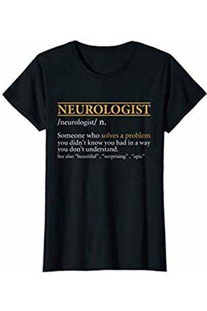 BBP Designs Women T-shirts - Womens Funny NEUROLOGIST definition Birthday or Christmas Gift T-Shirt