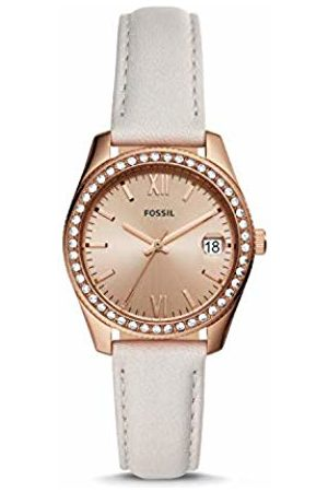 Fossil Womens Analogue Quartz Watch with Leather Strap ES4556