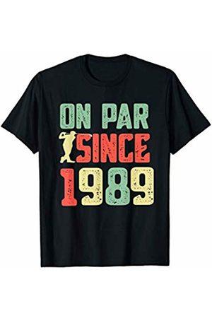 Golfer Birthday Shirts and Gifts Retro 1989 30th birthday Golfer Golf Pun T-Shirt