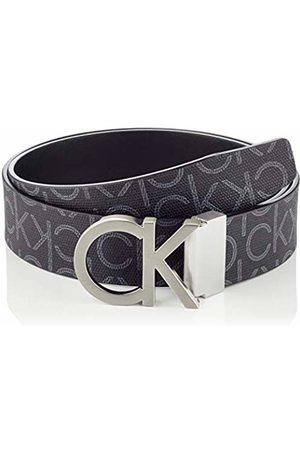 Calvin Klein Men's Ck Rev.adj. New Mono Belt 3.5cm ( Monogram 0gj)