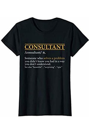 BBP Designs Womens Funny CONSULTANT definition Birthday or Christmas Gift T-Shirt