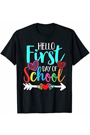 Merchalize Women T-shirts - Hello Happy First Day Of Back To School Teacher Student Gift T-Shirt