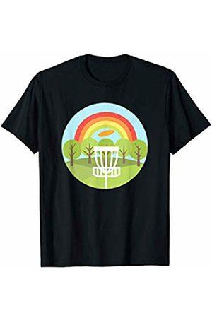 Disc Golf Heros Disc Golf Park Retro Frisbee Sports Gift T-Shirt