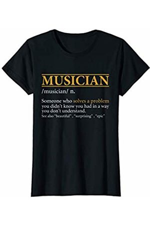 BBP Designs Women T-shirts - Womens Funny MUSICIAN definition Birthday or Christmas Gift T-Shirt