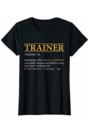 BBP Designs Womens Funny TRAINER definition Birthday or Christmas Gift T-Shirt