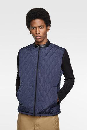 Zara Diamond pattern quilted gilet