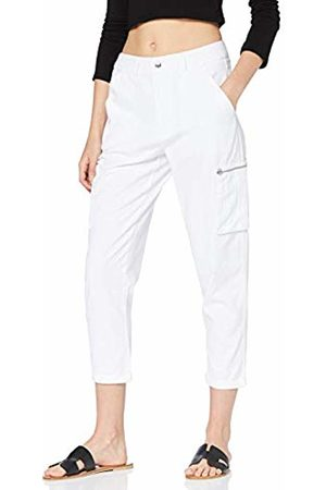 New Look Women's Tracy Twill Crop Sports Jogger
