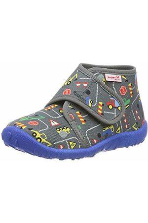 Superfit Boys' Spotty Hi-Top Slippers