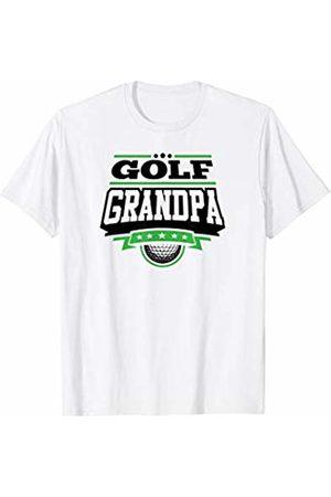 Golf Family Fan Zone Apparel Mens Golf Grandpa T-Shirt