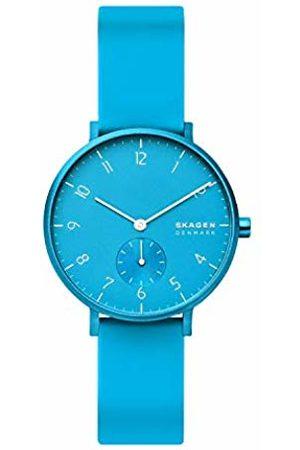 Skagen Unisex Adult Analogue Quartz Watch with Silicone Strap SKW2818