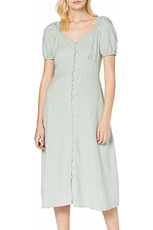 New Look Women's Linen Prarie Dress