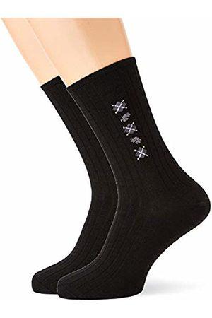Damart Men's Lotx2 P Mi-chaussette Th Calf Socks