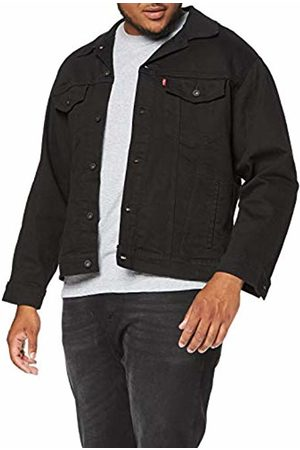 Levi's Men's Big Trucker Denim Jacket, Black (Lamar 0020)