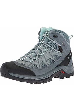 a2988f0f Salomon Women's Hiking Boots, Authentic LTR GTX W, Lead/Stormy Weather /Eggshell