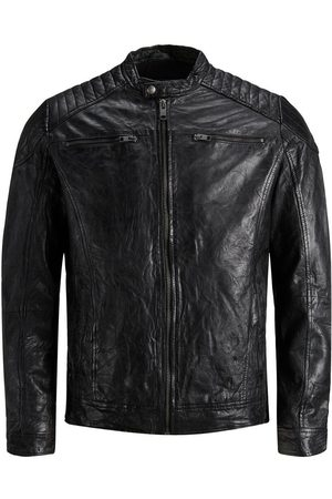 Jack & Jones Minimalist Leather Jacket