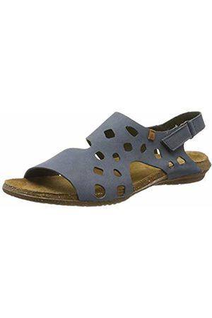 El Naturalista Women's N5061 Pleasant Vaquero/Wakataua Open Toe Sandals