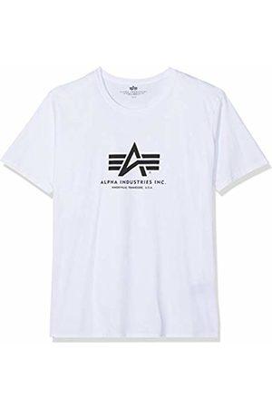 Alpha Industries Men's Basic T-Shirt Regular Fit Short Sleeve T-Shirt T-Shirt