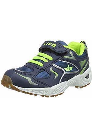 LICO Boys' Bob Vs Multisport Indoor Shoes, Lemon Marine
