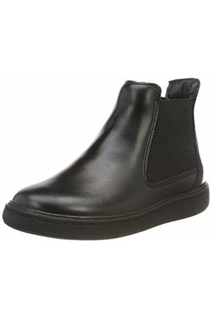 Clarks Boys' Street Edge K Chelsea Boots, Leather
