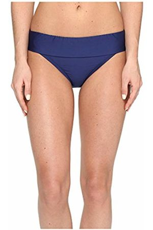 Splendid Women's Stitch Solid Banded Bikini Bottom, Navy
