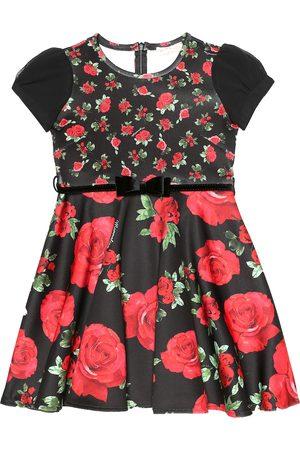 MONNALISA Floral twill dress