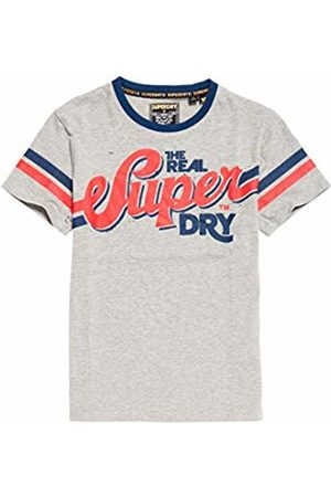Superdry Men's Heritage Classic Tee Kniited Tank Top, ( Marl Q)