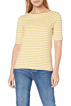 GANT Women's D1. Boatneck Striped Top Vest, (Honey 759)