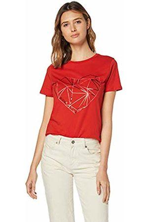 HUGO BOSS Women's Tearty T-Shirt, (Bright 622)