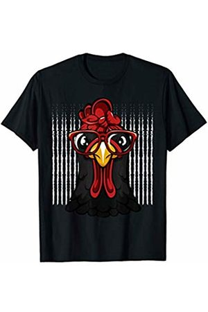 Chicken bandana shirt Chicken with bandana headband cute t-shirt T-Shirt
